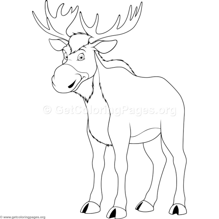 Elk Coloring Pages – GetColoringPages.org