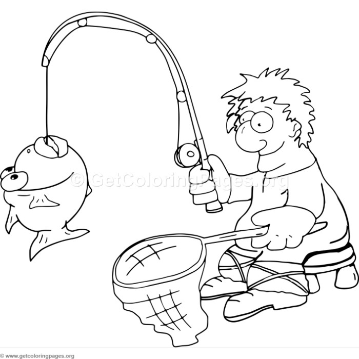 Fisherman Coloring Pages – GetColoringPages.org