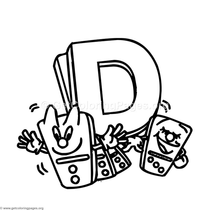 Alphabet Characters Letter D Coloring Pages Getcoloringpages Org D Coloring Pages