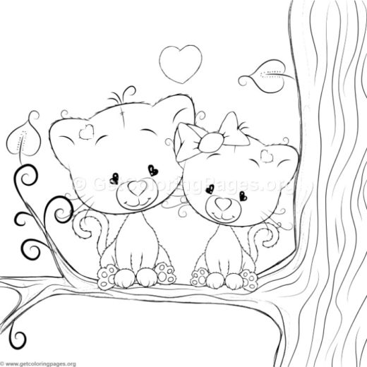 cartoon coloring sheets Page 4 GetColoringPages