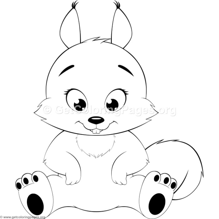 free coloring pages for squrrils - photo#30