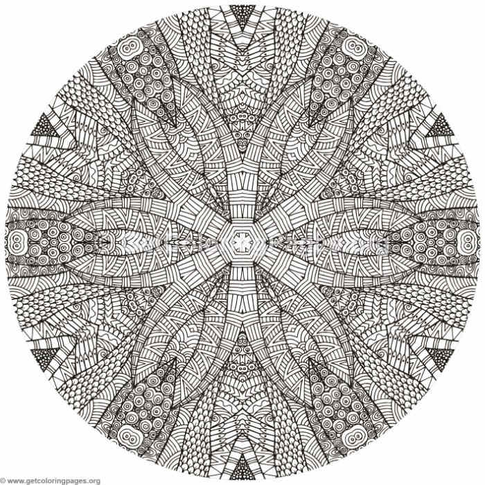 Owl Mandala Coloring Pages Getcoloringpages Org