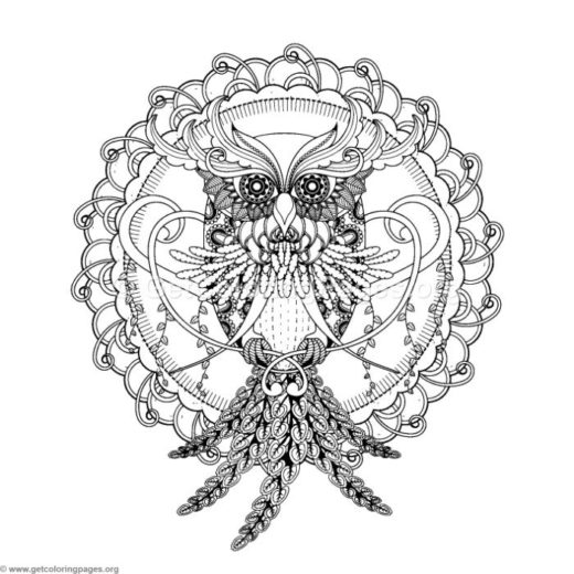 zentangle coloring pages – GetColoringPages.org