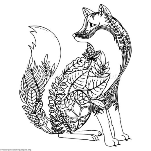 Zentangle Animal Templates Getcoloringpages Org