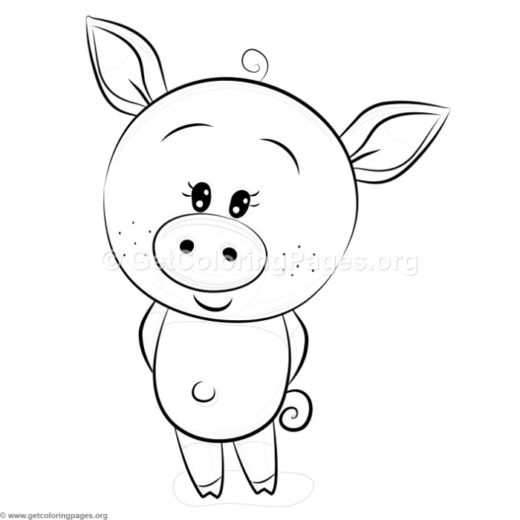 pig face coloring page – GetColoringPages.org