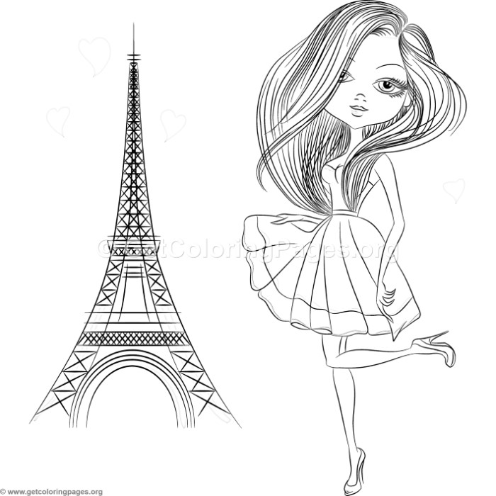 Girl next to eiffel tower coloring pages getcoloringpages free download now with no watermark checkout added to cart thecheapjerseys Choice Image