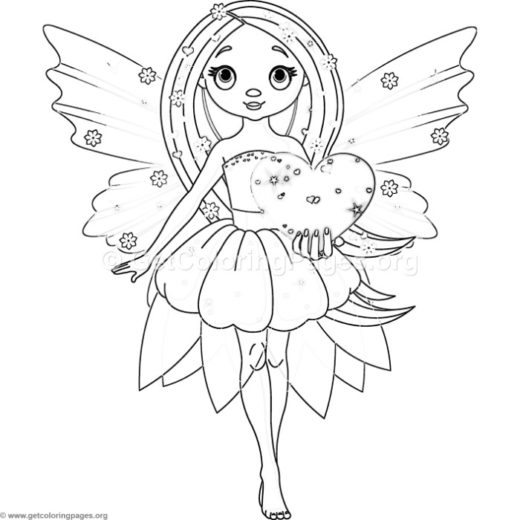 fairy coloring pages free printable – GetColoringPages.org