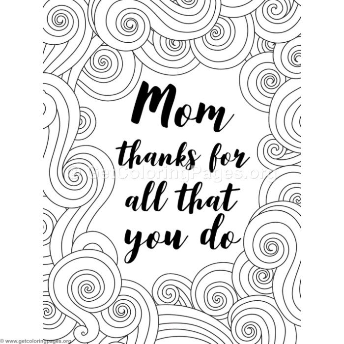 Mom Thanks for All That You Do