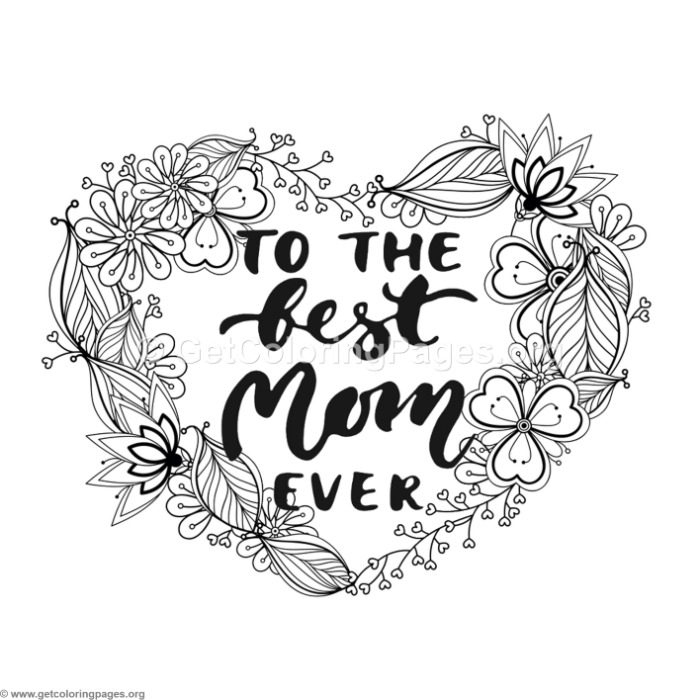 Captivating To The Best Mom Ever Coloring Pages