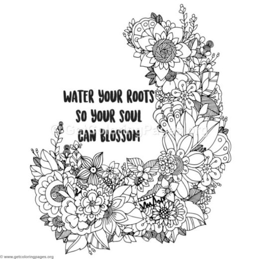 Water Your Roots Coloring Pages