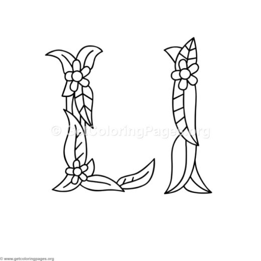 alphabet coloring pages pdf Page