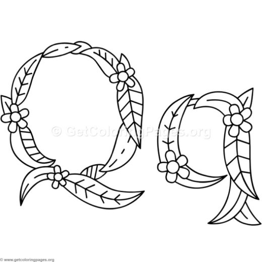 Alphabet Coloring Pages A Z Pdf Getcoloringpages Org