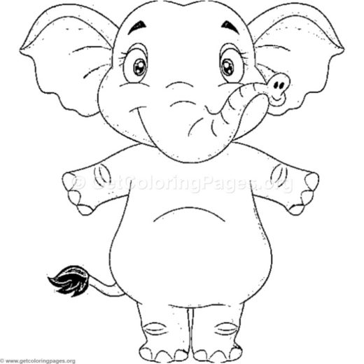 free elephant coloring sheets – GetColoringPages.org