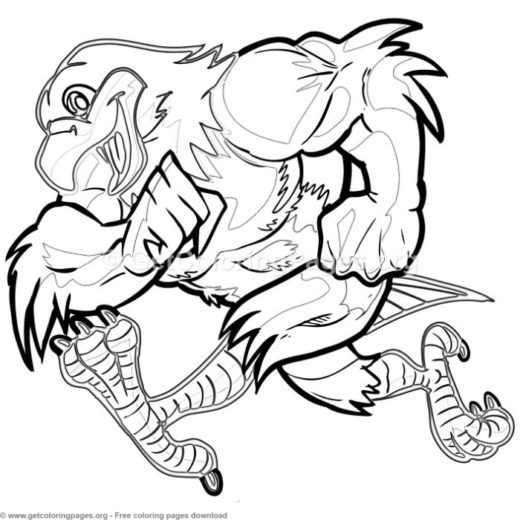 Cartoon Coloring Pages For Adults Page 2