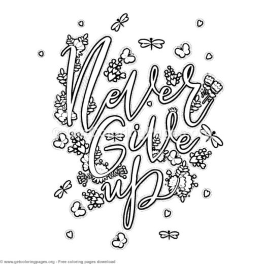 quote coloring pages pdf GetColoringPages