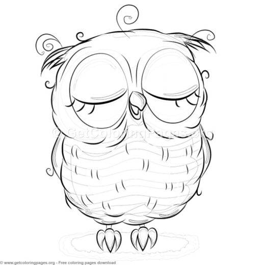 Baby Owl Coloring Pages To Print Getcoloringpages Org