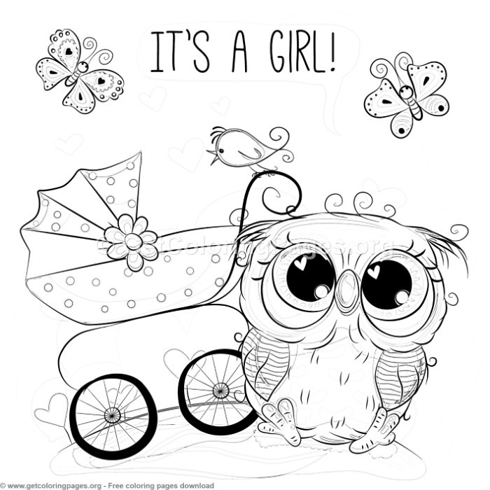 21 Cute Owl Coloring Pages – GetColoringPages.org