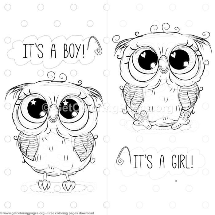 22 Cute Owl Coloring Pages – GetColoringPages.org
