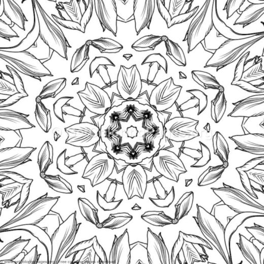 Abstract Patterns Coloring Pages Getcoloringpages Org