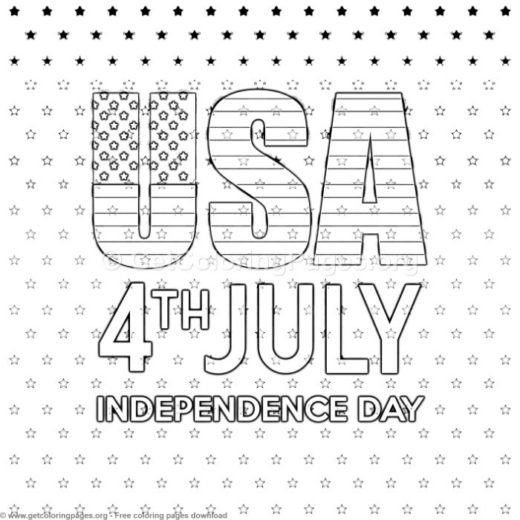 6 4th of july coloring pages