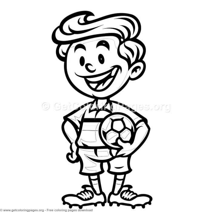 Boy Soccer World Cup Coloring Pages – GetColoringPages.org