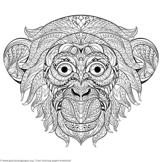 zentangle animal templates GetColoringPages