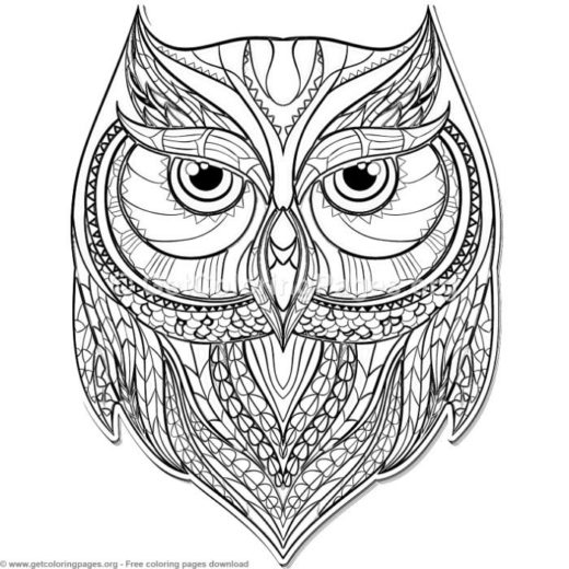Zentangle Patterns Animals Getcoloringpages Org