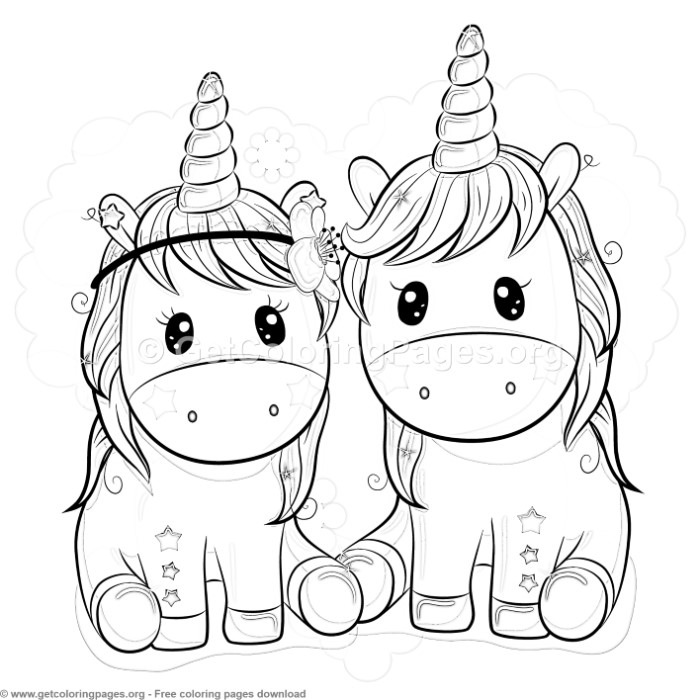 Star Unicorn Coloring Pages GetColoringPages