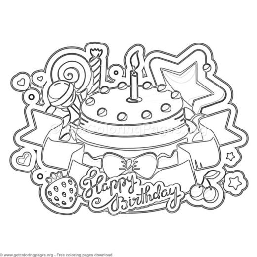 personalized happy birthday coloring pages getcoloringpages org