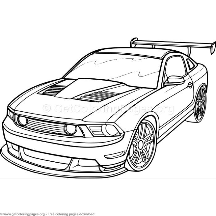 3 race car coloring pages