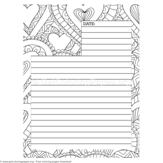 printable blank journal pages GetColoringPages