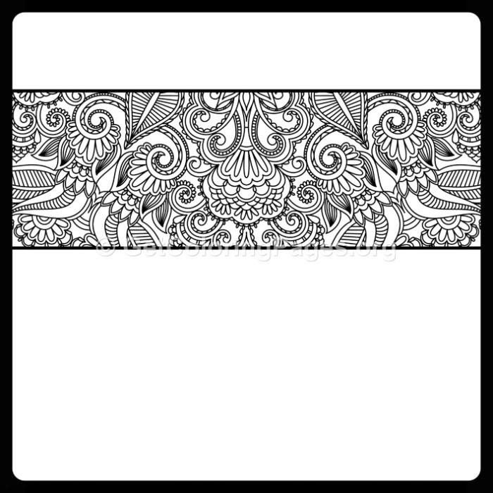 11 Vintage Ornamental Pattern Coloring Pages