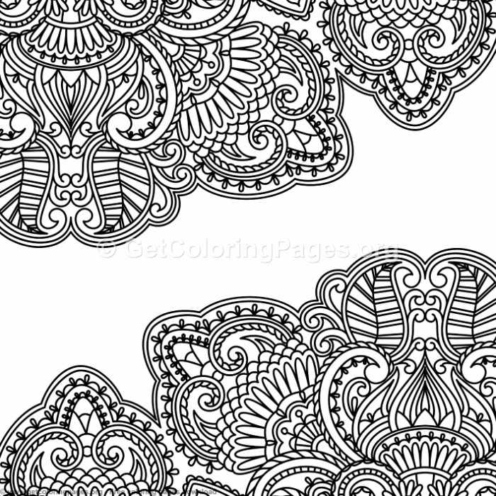 18 Vintage Ornamental Pattern Coloring Pages