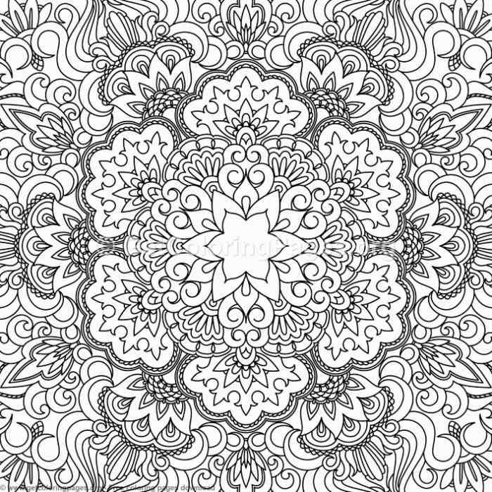 20 vintage ornamental pattern coloring pages