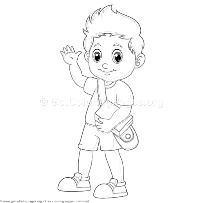 35 Back to School Coloring Pages – GetColoringPages.org