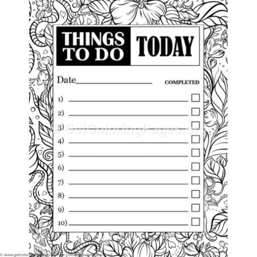 to do list template word getcoloringpages org