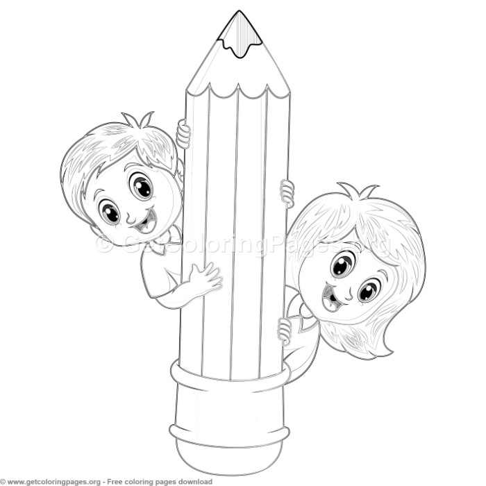 40 Back to School Coloring Pages – GetColoringPages.org