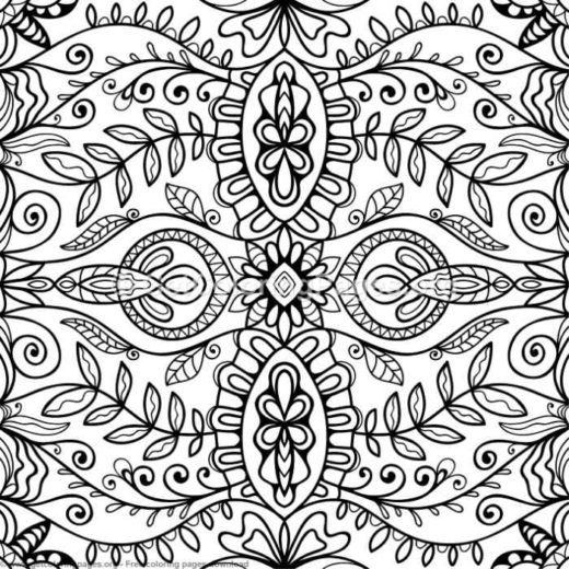 abstract coloring pages for adults and artists – GetColoringPages.org