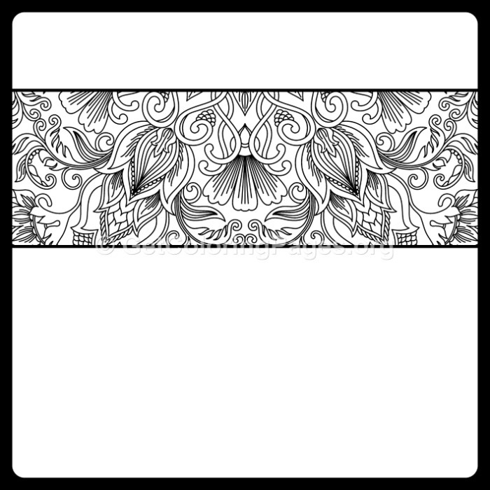 8 Vintage Ornamental Pattern Coloring Pages