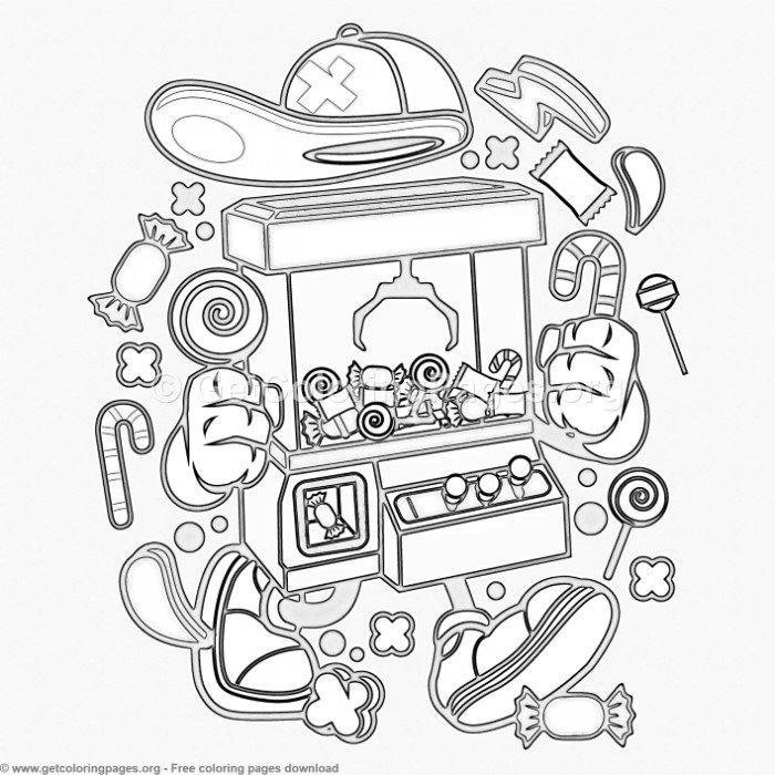 Cartoon Crane Machine Coloring Pages – GetColoringPages.org