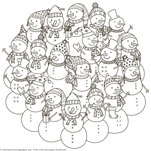 Pattern Coloring Pages Pdf Getcoloringpagesorg - Circle-pattern-coloring-pages