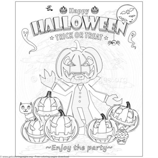 halloween coloring book pages – GetColoringPages.org