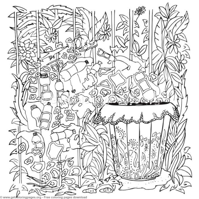 45 Zentangle Patterns Coloring Pages