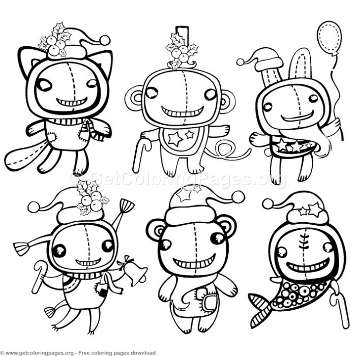 Creative Art Winter Animals Coloring Pages – GetColoringPages.org