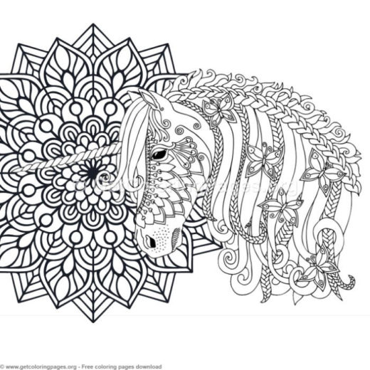 cute unicorn coloring pages GetColoringPages