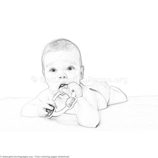 Baby Coloring Pages Pdf Getcoloringpages Org