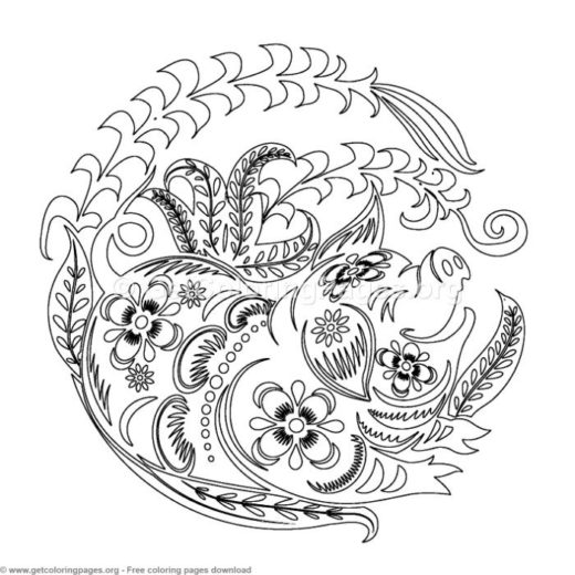Chinese New Year 2019 Page 2 Getcoloringpages Org