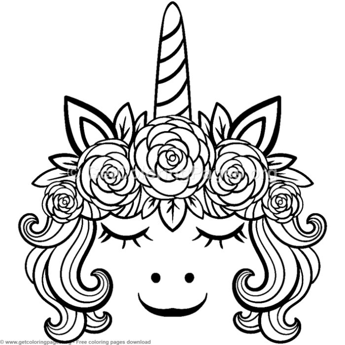 56 Cute Cartoon Unicorn Coloring Pages - GetColoringPages.org