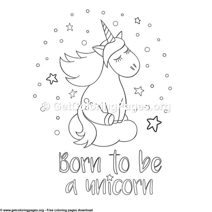 88 Cute Cartoon Unicorn Coloring Pages – GetColoringPages.org