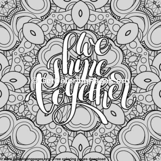 Quote Coloring Pages Pdf Getcoloringpages Org